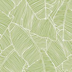 Bananier Vert/Coco Wallpaper, , large