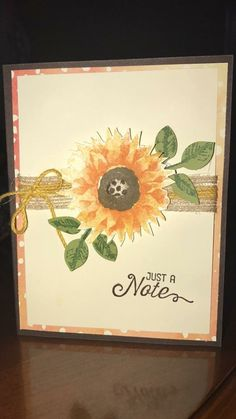 Stampin' Up- Painted Harvest