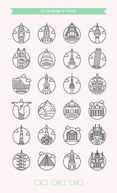 24 Cities design