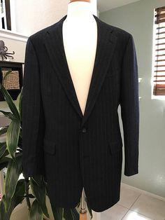 Chaps by Ralph Lauren Dark Navy Blue Sport Coat  Men's