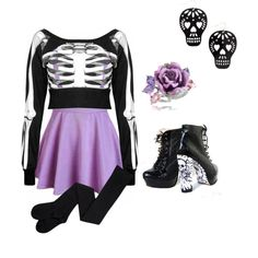 i wanna feel yourvbones by siarai on Polyvore featuring polyvore fashion style Dolci Gioie