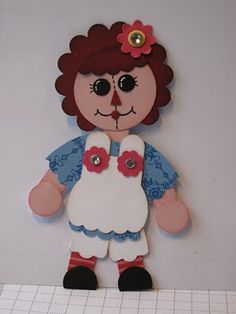 In My Craft Room: Raggedy Ann and Andy Punchies