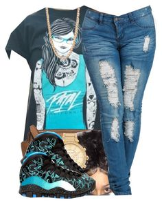 """""""101715"""" by polyvoreitems5 ❤ liked on Polyvore featuring MICHAEL Michael Kors, Michael Kors, Freaker and Forever 21"""