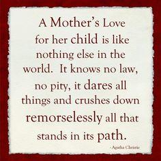 A Mother's Love by Veruca Salt