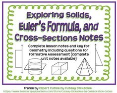 Volume of Spheres Guided Notes for Geometry | Geometry ...