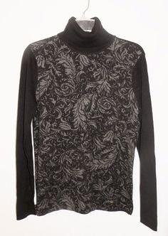 NWOT Lauren Ralph Lauren Cotton Turtleneck Sweater Sz S 4 6  #LaurenRalphLauren #TurtleneckMock