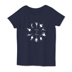 シルエットリース(W) 4.1oz Basic Ladies Tshirts (DALUC)