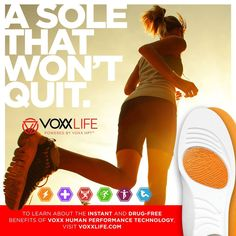 VoxxLife insoles instantly give you an edge in all areas of athletics, performance and wellness. Improves balance, increased strength, better sleep and helps manage foot pain! 30 day back guarantee! Muscular Strength, Flexibility Workout, Foot Pain, Drug Free, Aerobics, Pain Relief, Drugs, Health And Wellness, Improve Yourself