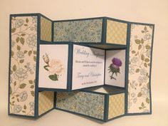 My Cards and Crafts: Wedding Acceptance card
