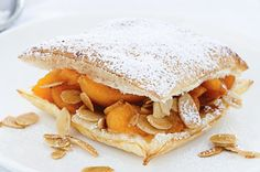 Apricot and almond pastries