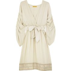 Pre-owned Alice + Olivia Grecian Pleated Dress ($124) ❤ liked on Polyvore