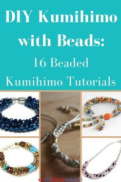 Have you been bitten by the kumihimo braiding bug? If you have fallen in love with kumihimo, then you are sure to adore the projects found in this collection, DIY Kumihimo with Beads: 16 Beaded Kumihimo Tutorials.