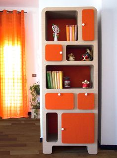 Library AMALTHEA Bookcase, Shelves, Home Decor, Collection, Wall Racks, Drawers, Wall Papers, Blue Prints, Shelving