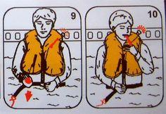 Instrucciones del chaleco salvavidas