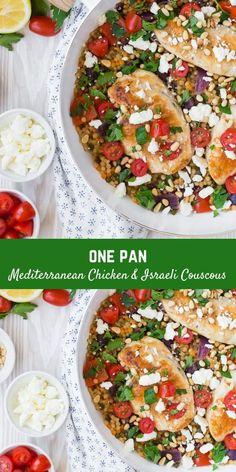 Ground Chicken Recipes, Oven Chicken Recipes, Venison Recipes, Lunch Recipes, Easy Dinner Recipes, Easy Meals, Healthy Recipes, Dinner Ideas, Mediterranean Chicken