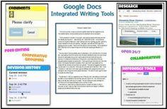 Google Docs Writing Workshop, 5 ways to use Google docs in the classroom