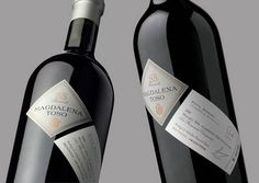 Magdalena Toso wine bottle (are wine bottle label designs the 21st century equivalent of LP cover design?)