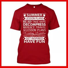 Summer vacation lesson plans