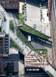 Découvrez la High Line ou comment vous fondre dans le décor.