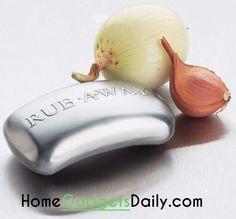 Odor Removing Rubbing Bar #removesodor #odorremover #soap #rubbingbar #garlic #stainless #steel #bar