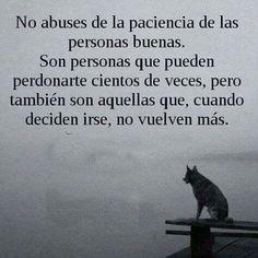No abuses