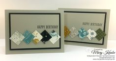 """Stampin' Up! Going Places Designer Series Paper Stack and 1"""" Square Punch"""