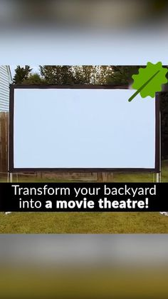 Outdoor Entertaining, Outdoor Fun, Outdoor Spaces, Outdoor Living, Outdoor Decor, Outdoor Movie Screen, Outdoor Theater, Backyard Movie Nights, Outdoor Movie Nights