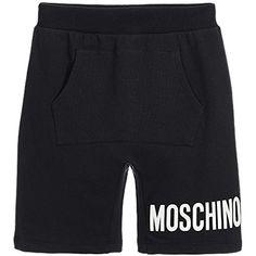 d3bf614b01a864 Moschino Bermuda Nero con Scritta #pantaloncini #pantalonciniadidas  #pantaloncinidipelle #pantaloncinijuventus #pantaloncininba #
