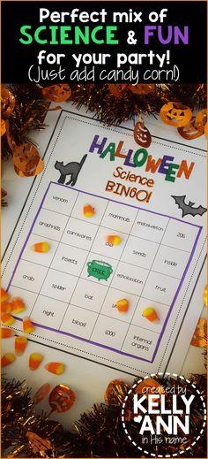 Halloween Science BI