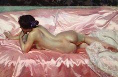 Desnudo de mujer 1902  JOAQUIN SOROLLA