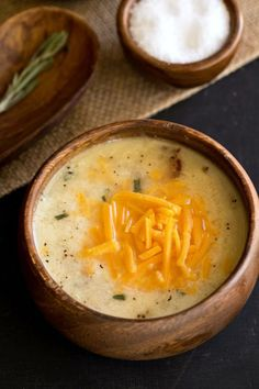 Slow Cooker Potato Rosemary Bacon Soup