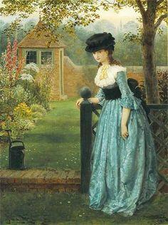 monsieurleprince:    George Dunlop Leslie (1835-1921) - Clarissa