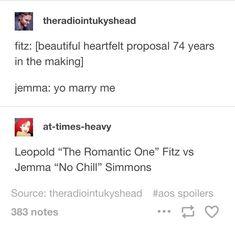 FitzSimmons, Leo Fitz, Jemma Simmons, Agents of SHIELD