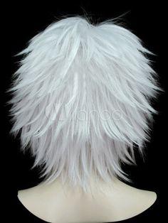 Short White Hair, Short Hair With Layers, Short Hair Cuts, Lob Hairstyle, Wig Hairstyles, Straight Hairstyles, Wedding Hairstyles, Short Layered Haircuts, Pixie Haircuts