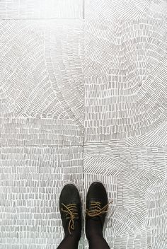 Fossil porcelain tile assortment Kasia Zareba - All Home Decors Floor Patterns, Tile Patterns, Textures Patterns, Print Patterns, Floor Design, Tile Design, Pattern Design, Floor Graphics, Floor Finishes