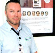 Frode Haugen driver Vanitas i Drøbak og er en av få mannlige Restylanebehandlere.