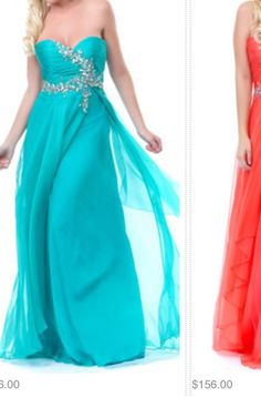 Same gown different colors