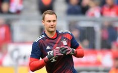Manuel Neuer has been included in Bayern Munich's squad for the DFB-Pokal final against Eintracht Frankfurt on Saturday Bayern Munich Goalkeeper, Goalkeeper Training, Thomas Muller, Marc Andre, Fc Barcelona, Sports News, Squad, Soccer, January 2018