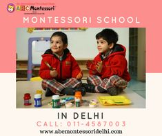 ABC Montessori the fastest growing best Montessori play school in Hari Nagar, Rajouri Garden, West Delhi. Playschools are the best way to educate the kid. Contact us Today. 6 Years, Montessori, Preschool, Play, Education, Garden, Kids, Children, Garten