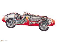 4 Seiten 233 Alfa Romeo 6c 2500 Nardi-danese