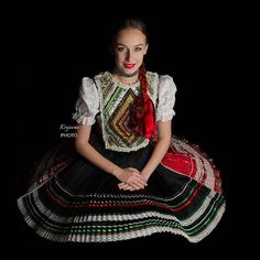 Región: Zemplín Lokalita: Parchovany, Slovakia Traditional Outfits, Saree, People, Europe, Collections, Beautiful, Girls, Dresses, Fashion