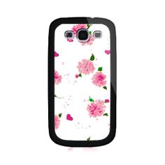 Hearts And Flowers Samsung Galaxy S3 Case