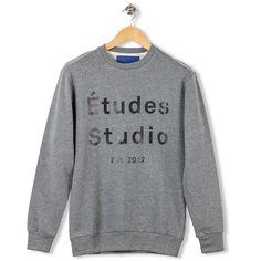 Etoile Sweatshirt Etudes Studio Grey par Etudes