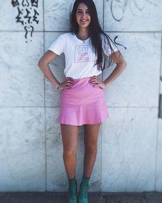 Camiseta Soy edición Limitada  Antes 2595  Ahora por 1995  WWW.PIOCCA.COM  #rebajas #piocca #soyedicionlimitada #marca #moda #almeria #pink Shirt Dress, T Shirt, Skater Skirt, Fan, Sexy, Skirts, Dresses, Fashion, T Shirts