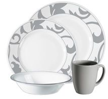 Corelle... Break & chip resistant. You can never be too cautious when you a child(ren)