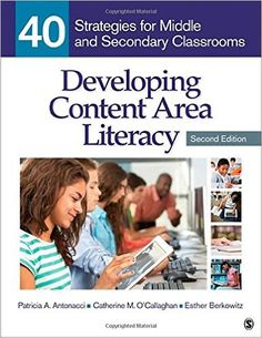 This book is designed to help busy middle school and secondary teachers meet the challenge of addressing the literacy learning needs of all students, including English language learners. Each of the 40 evidence-based strategies is organized around eight essential areas of literacy instruction: academic vocabulary, reading fluency, narrative text, informational text, media and digital literacies. Each topic has five strategies from which to choose, giving teachers ample variety.