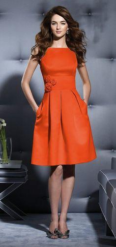 comment bien choisir la robe de soirée courte orange
