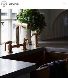 Stone Kitchen, Kitchen Reno, Kitchen Counters, Stiffkey Blue, Roman And Williams, Portland Stone, Shaker Style Kitchens, Waterworks, Kitchen Styling