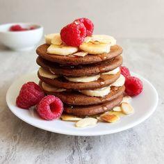 placki dyniowe z kakao Pancakes, Breakfast, Food, Interior, Morning Coffee, Indoor, Essen, Pancake, Meals