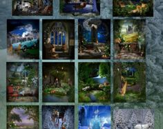 Into Fantasy Land Digital Backdrops/Photography Backdrops